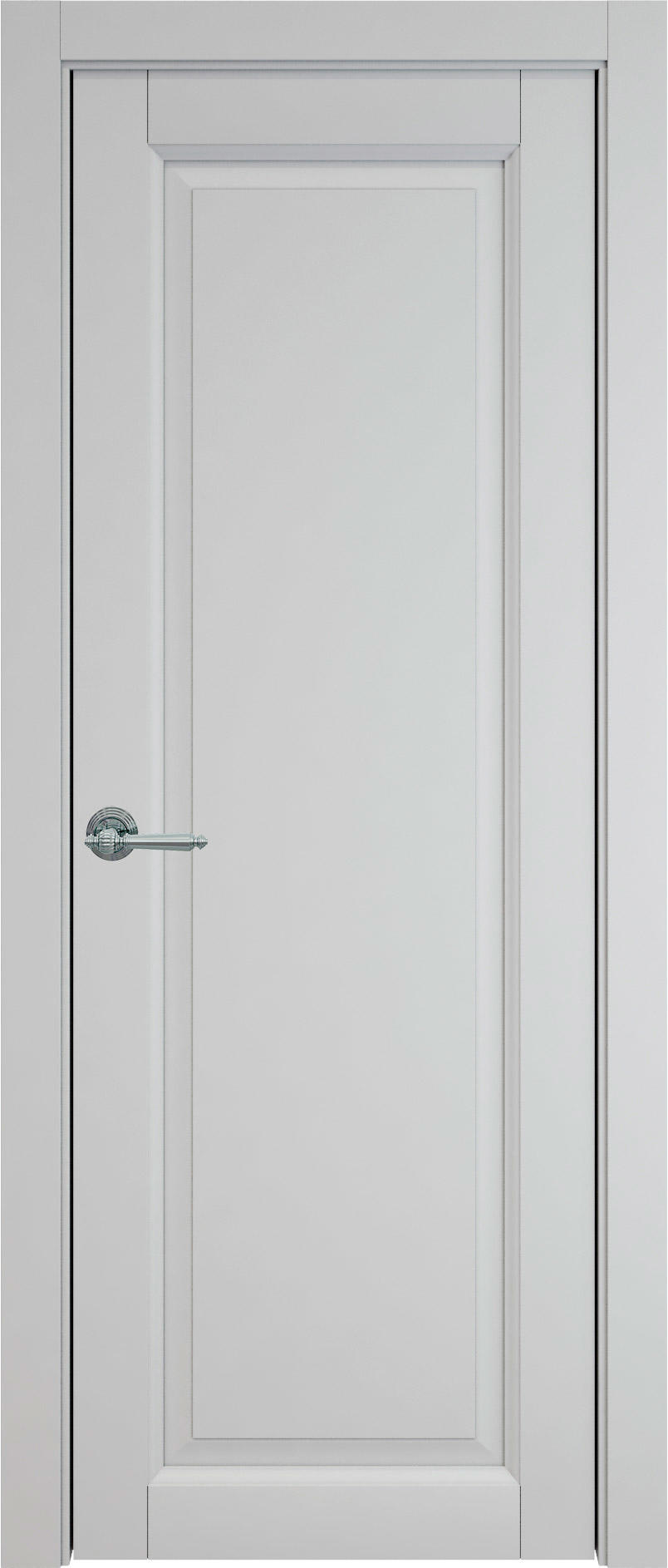 Domenica цвет - Серая эмаль (RAL 7047) Без стекла (ДГ)