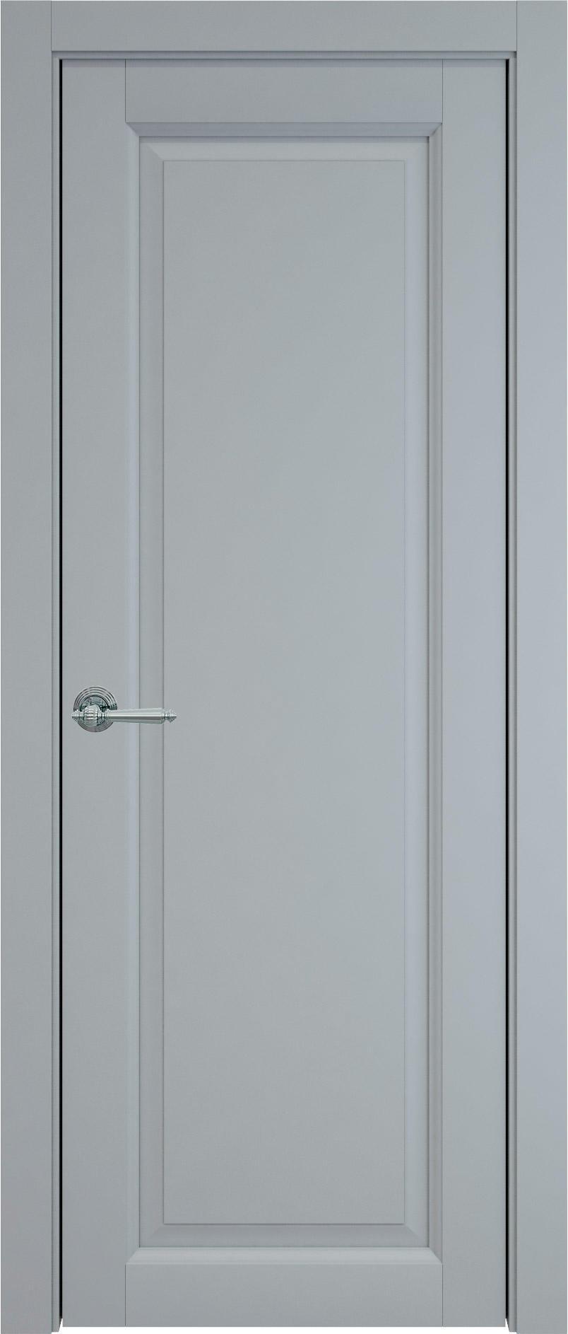 Domenica цвет - Серебристо-серая эмаль (RAL 7045) Без стекла (ДГ)