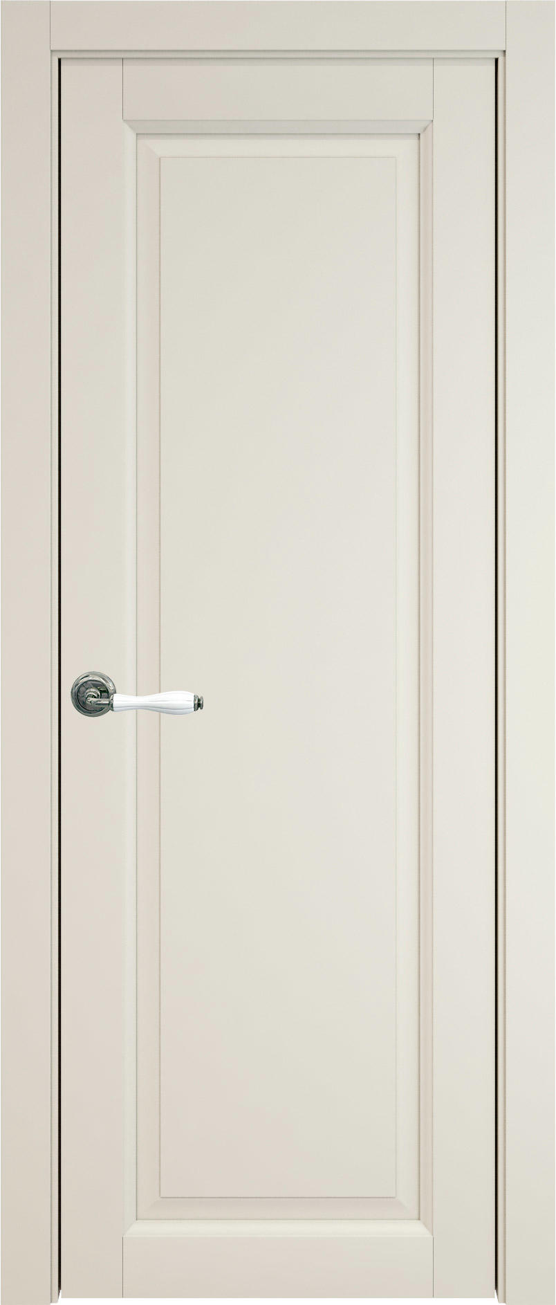 Domenica цвет - Жемчужная эмаль (RAL 1013) Без стекла (ДГ)