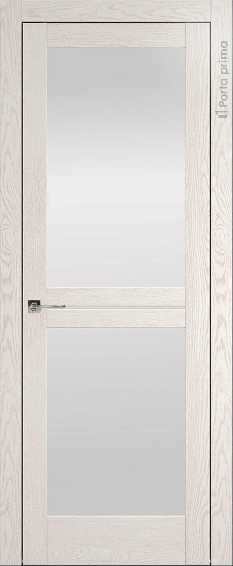 Elegante цвет - Белый ясень (nano-flex) Со стеклом (ДО)