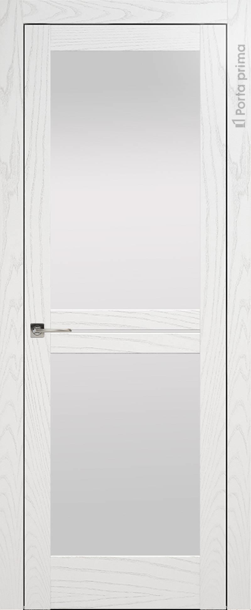Elegante цвет - Белый ясень (шпон) Со стеклом (ДО)
