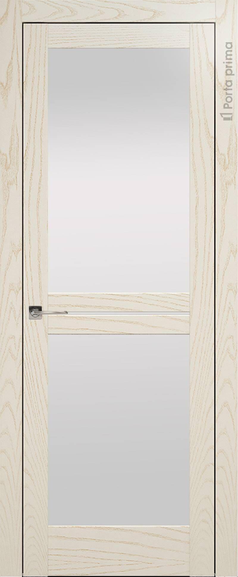 Elegante цвет - Бежевый ясень Со стеклом (ДО)