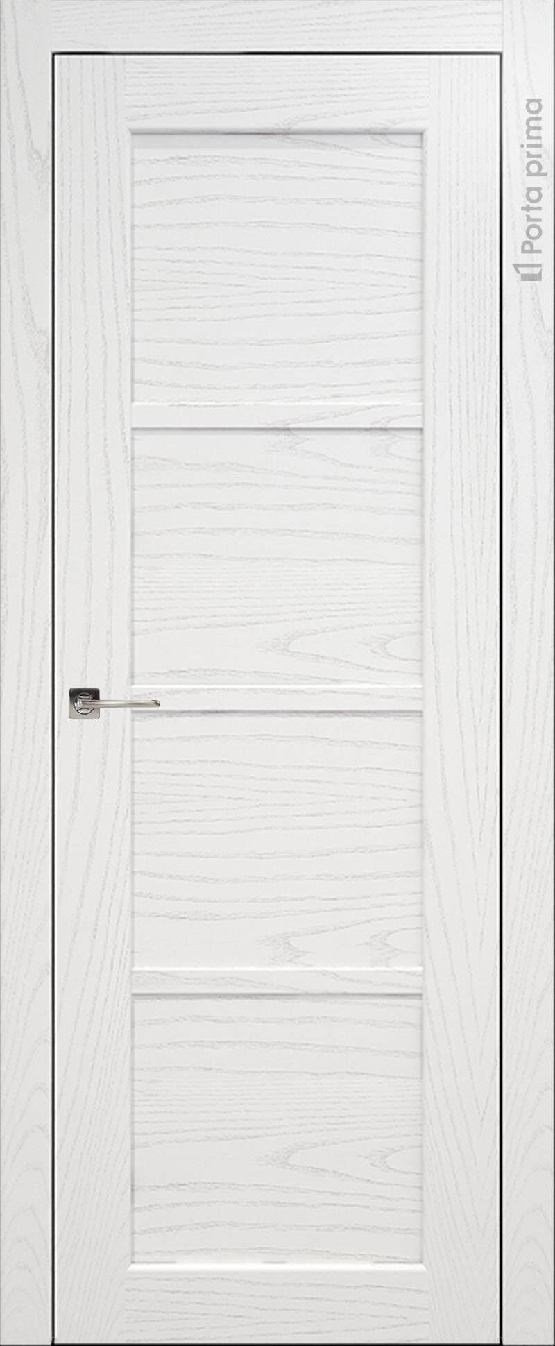 Felicia цвет - Белый ясень (шпон) Без стекла (ДГ)