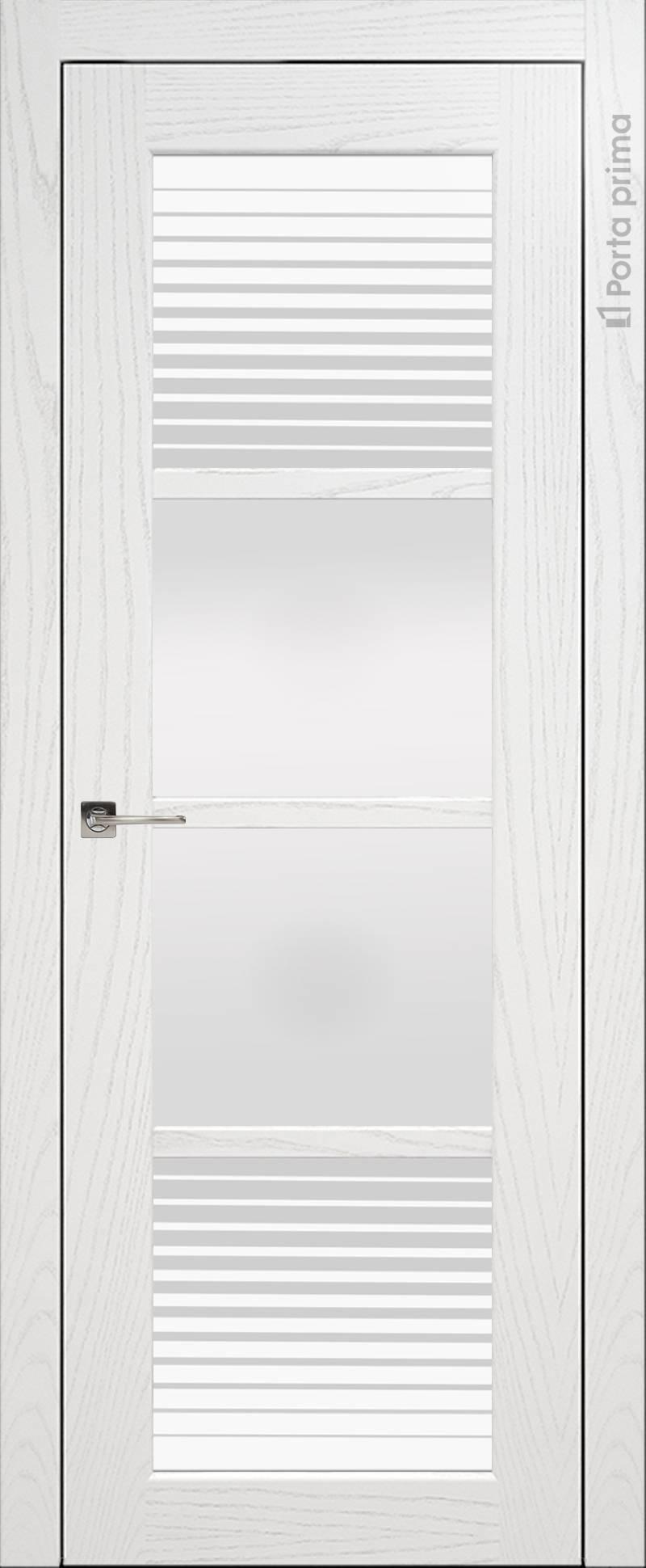 Felicia цвет - Белый ясень (шпон) Со стеклом (ДО)