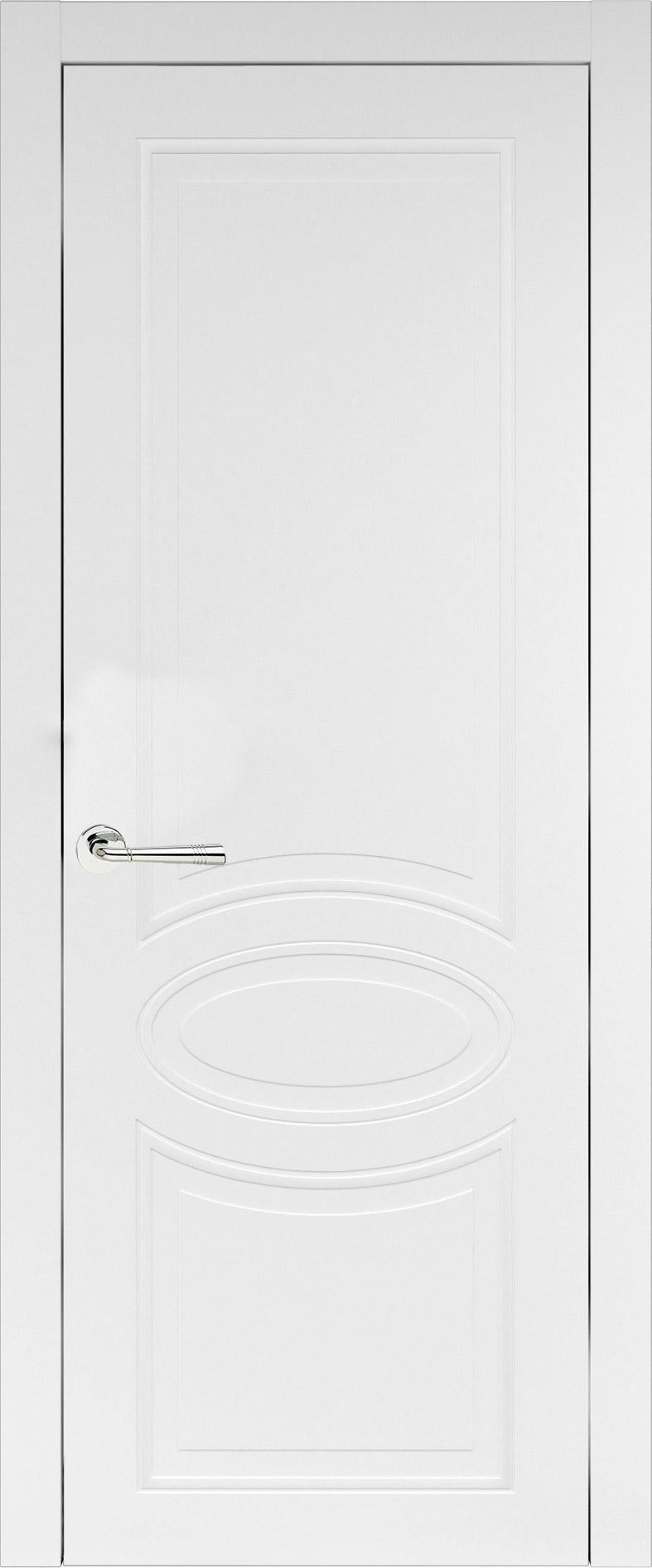 Florencia Neo Classic цвет - Белая эмаль (RAL 9003) Без стекла (ДГ)