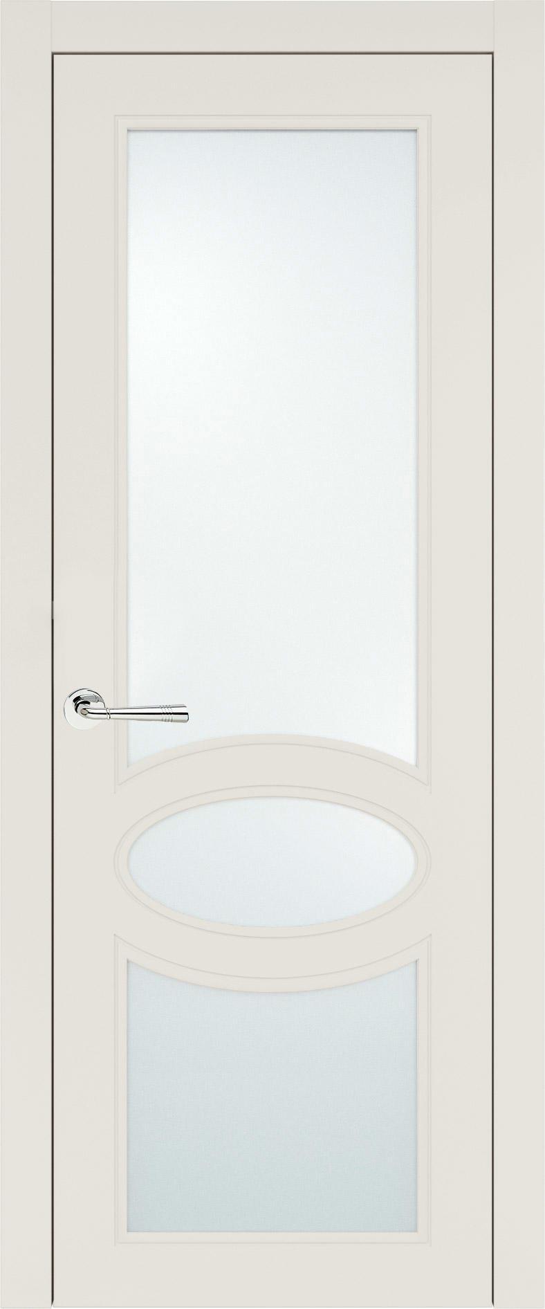 Florencia Neo Classic цвет - Бежевая эмаль (RAL 9010) Со стеклом (ДО)