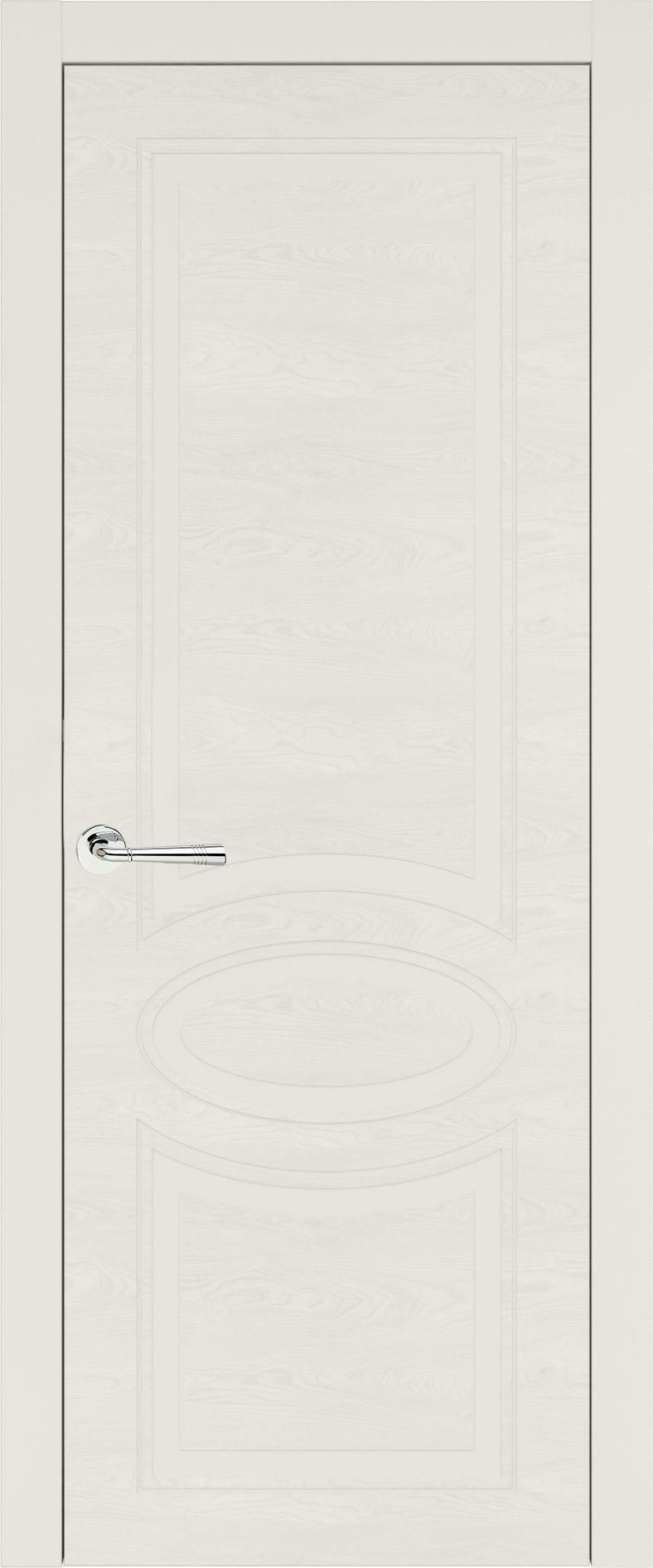 Florencia Neo Classic цвет - Бежевая эмаль по шпону (RAL 9010) Без стекла (ДГ)