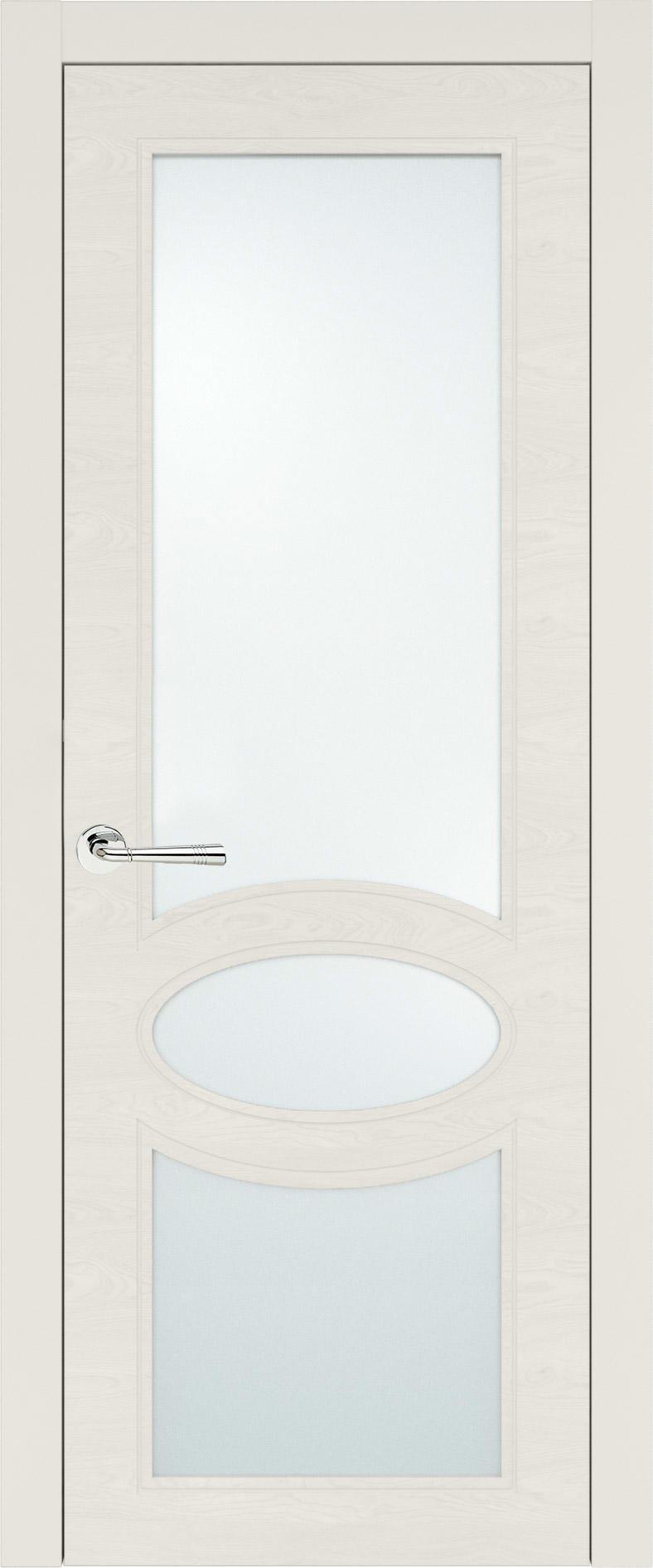 Florencia Neo Classic цвет - Бежевая эмаль по шпону (RAL 9010) Со стеклом (ДО)