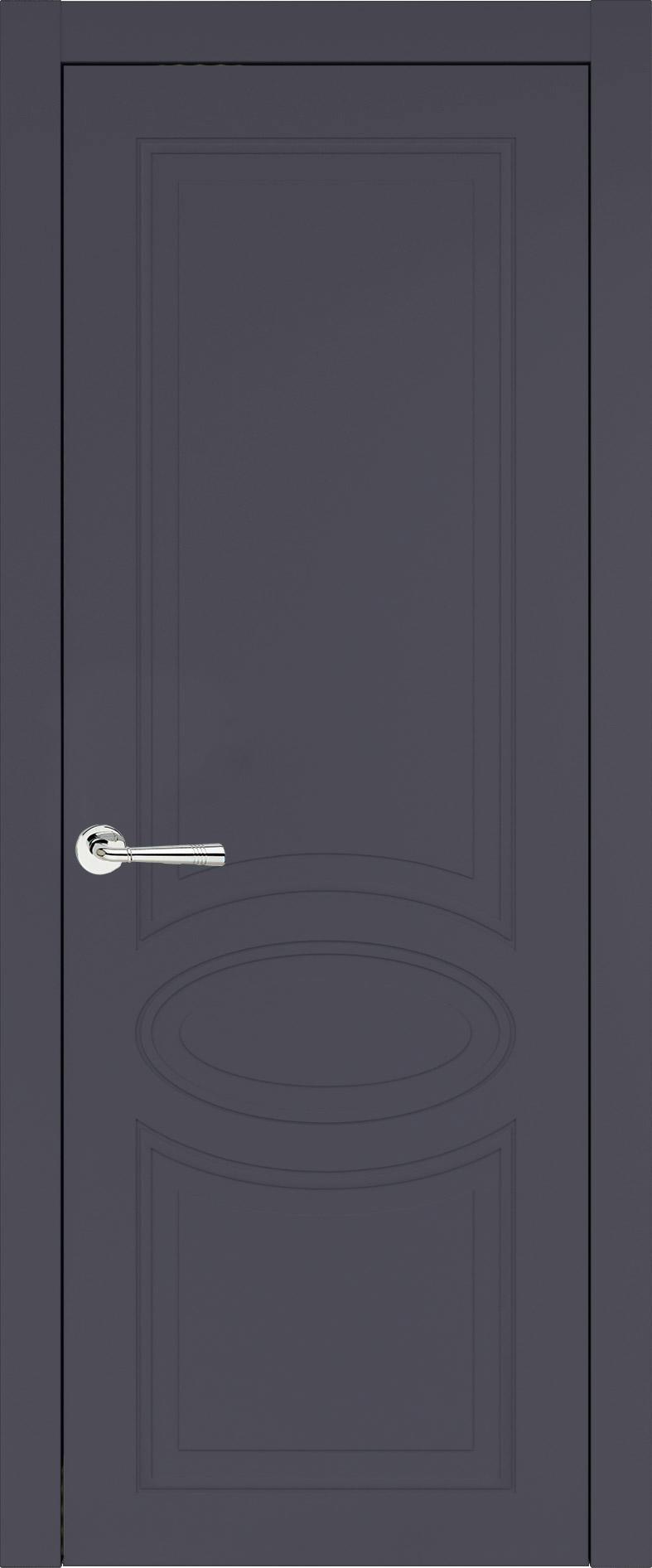 Florencia Neo Classic цвет - Графитово-серая эмаль (RAL 7024) Без стекла (ДГ)