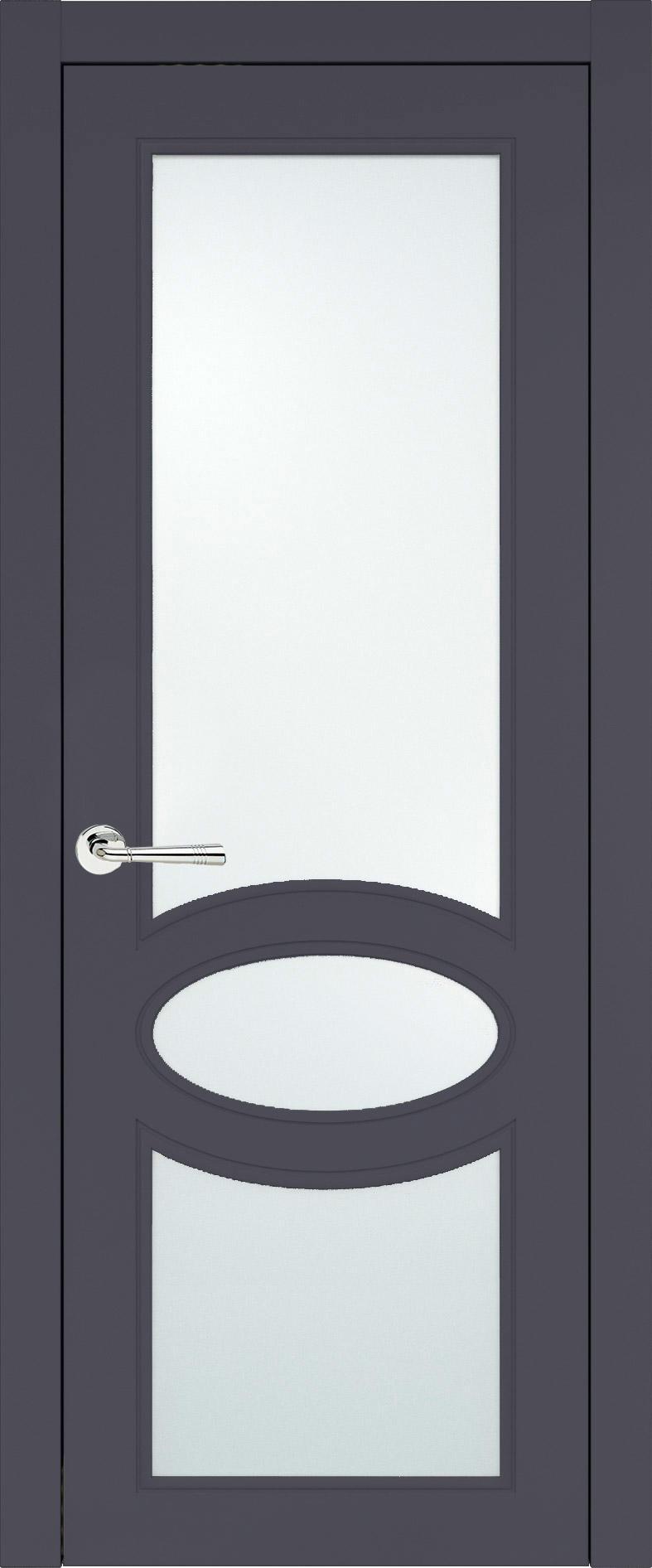 Florencia Neo Classic цвет - Графитово-серая эмаль (RAL 7024) Со стеклом (ДО)