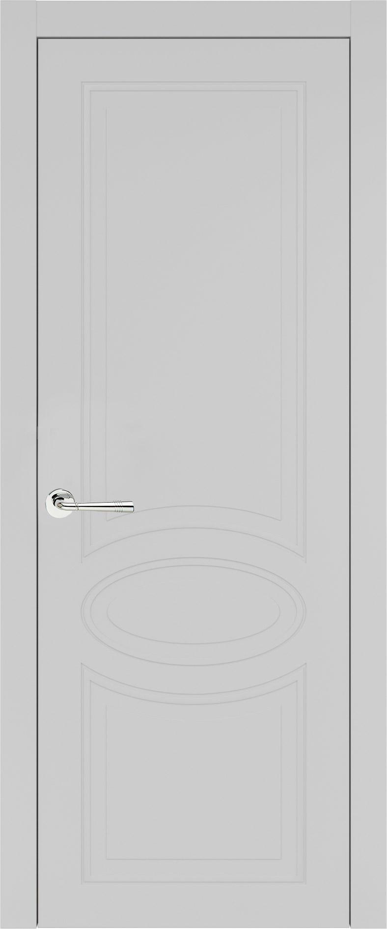 Florencia Neo Classic цвет - Серая эмаль (RAL 7047) Без стекла (ДГ)