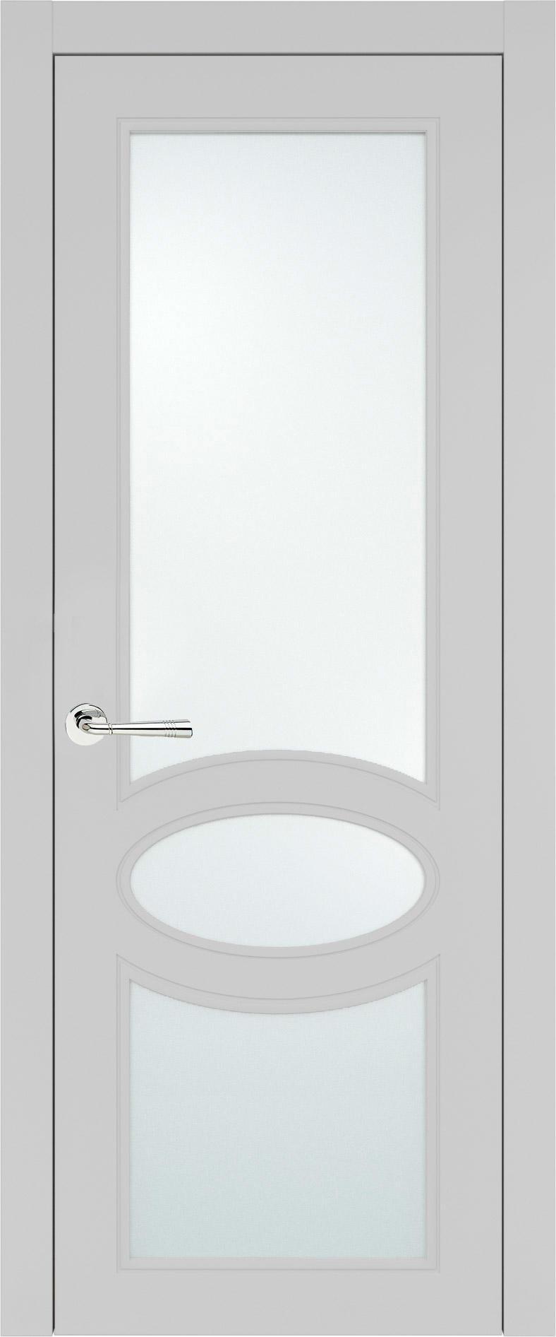 Florencia Neo Classic цвет - Серая эмаль (RAL 7047) Со стеклом (ДО)