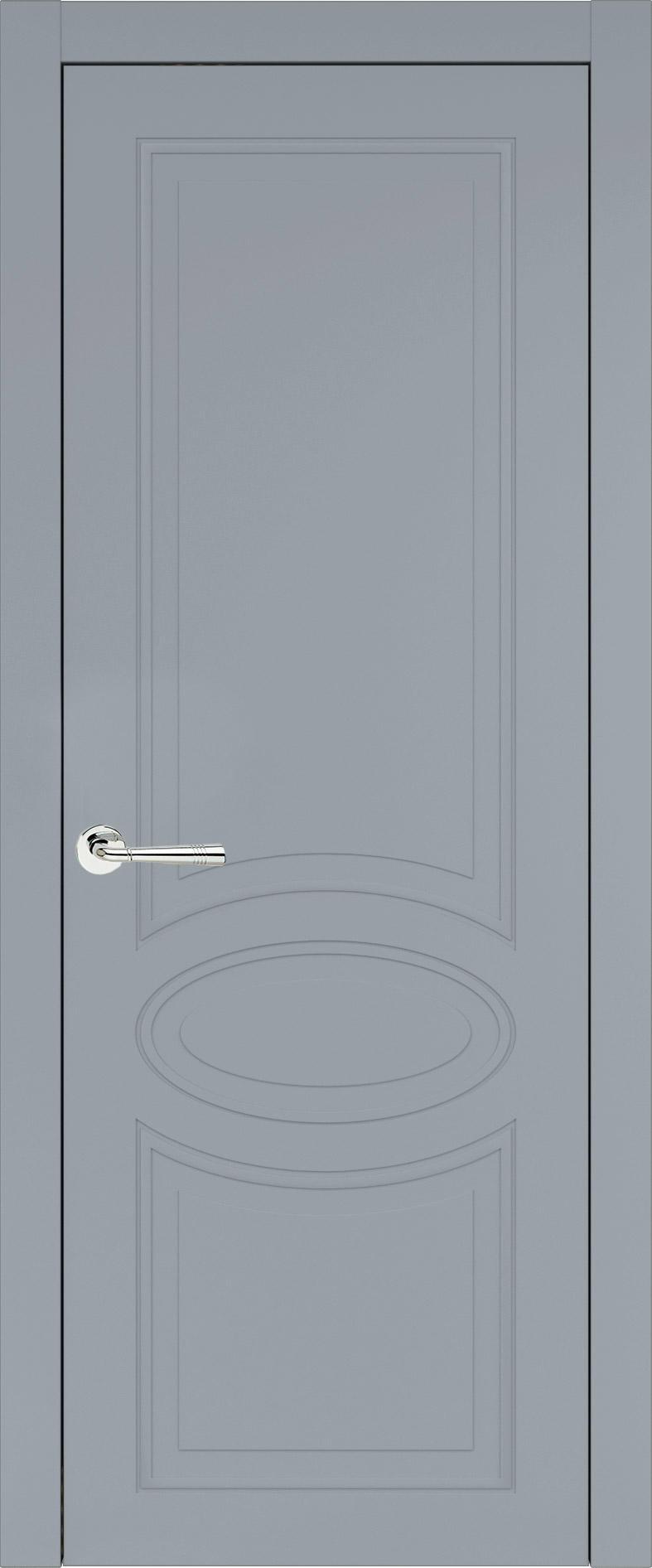Florencia Neo Classic цвет - Серебристо-серая эмаль (RAL 7045) Без стекла (ДГ)