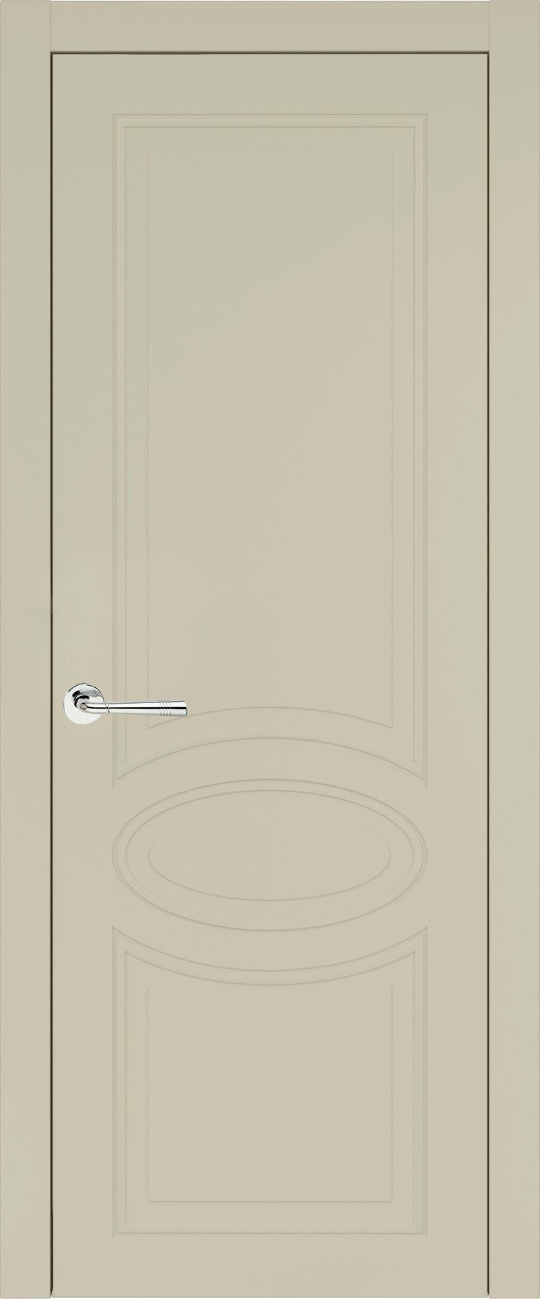 Florencia Neo Classic цвет - Серо-оливковая эмаль (RAL 7032) Без стекла (ДГ)
