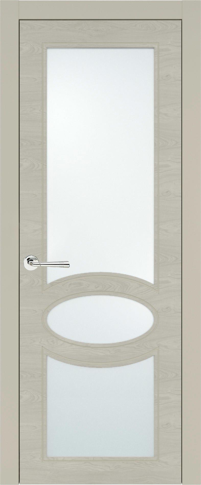 Florencia Neo Classic цвет - Серо-оливковая эмаль по шпону (RAL 7032) Со стеклом (ДО)