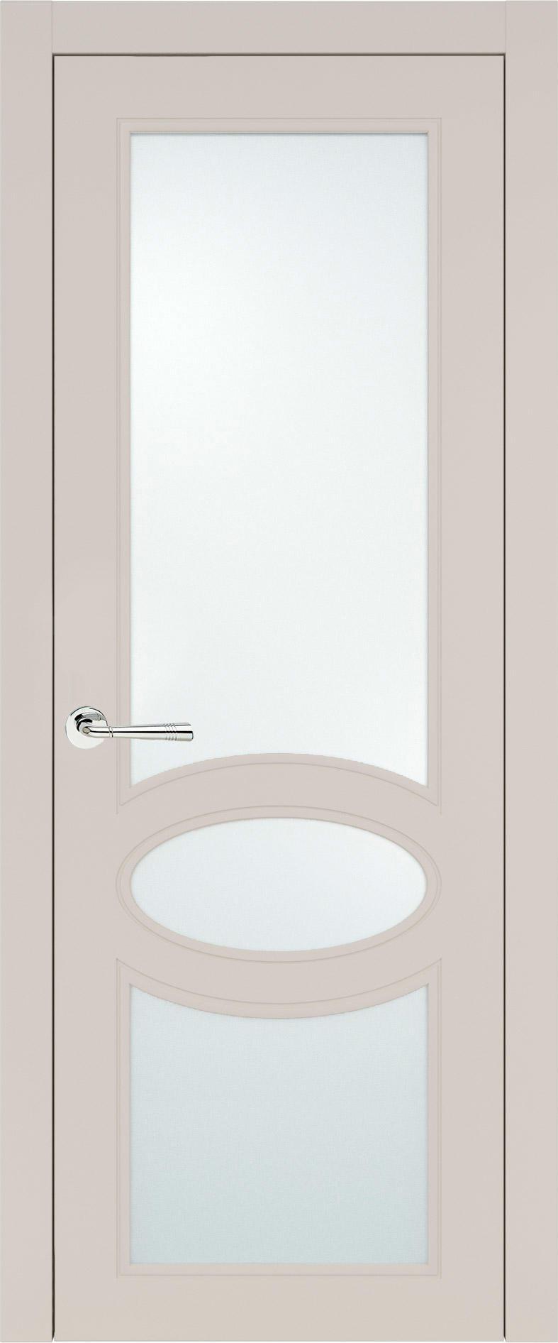 Florencia Neo Classic цвет - Жемчужная эмаль (RAL 1013) Со стеклом (ДО)