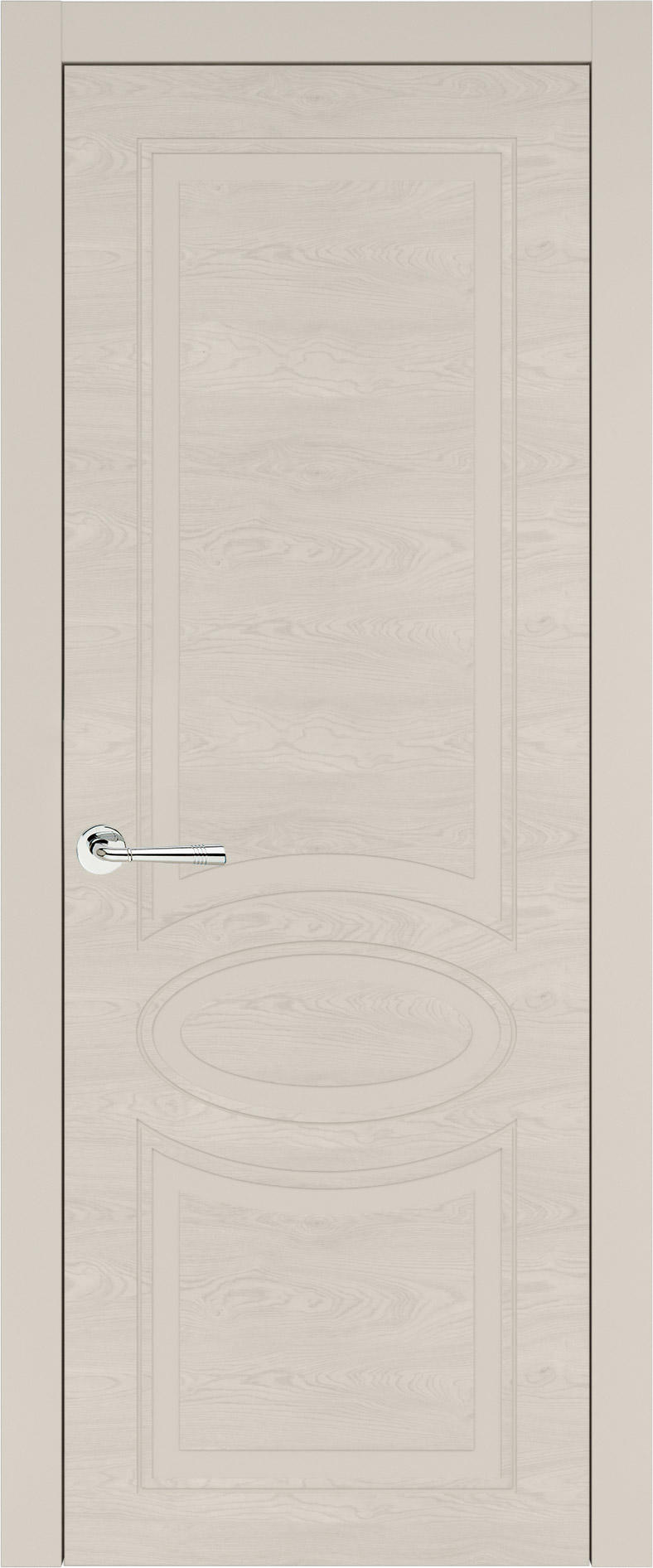 Florencia Neo Classic цвет - Жемчужная эмаль по шпону (RAL 1013) Без стекла (ДГ)