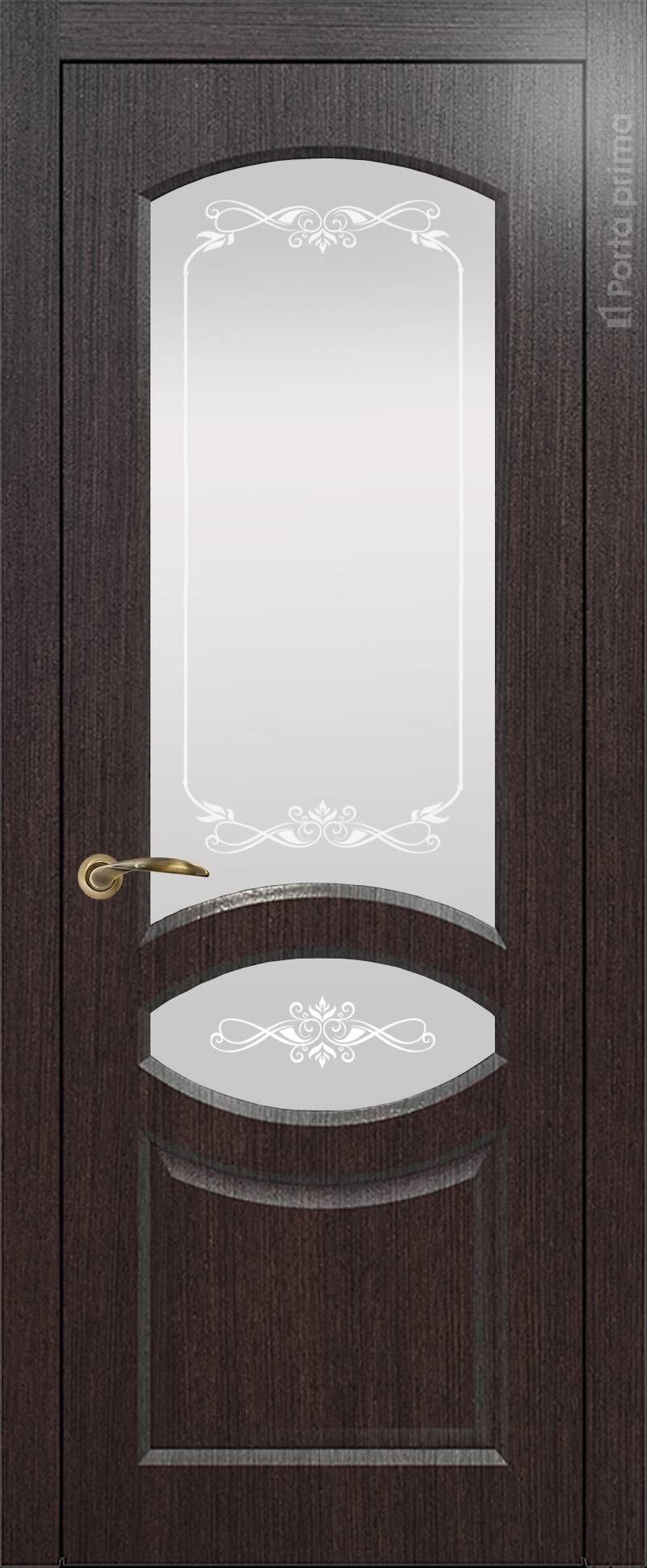 Florencia-R цвет - Венге Шоколад Со стеклом (ДО)