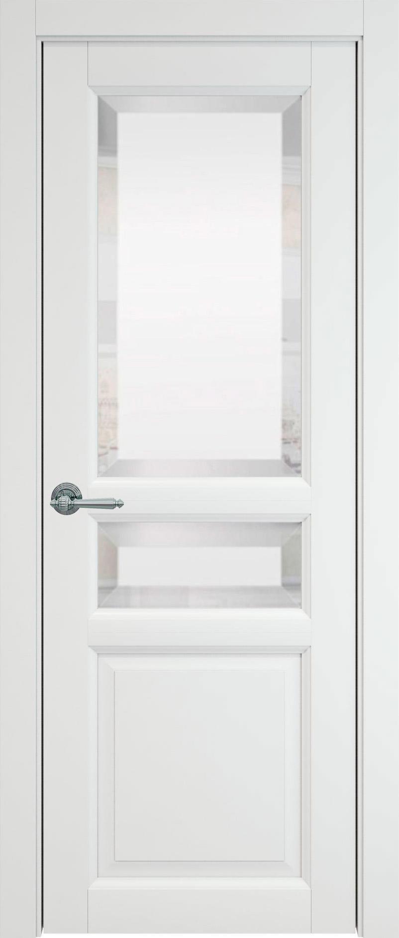 Imperia-R цвет - Белая эмаль (RAL 9003) Со стеклом (ДО)