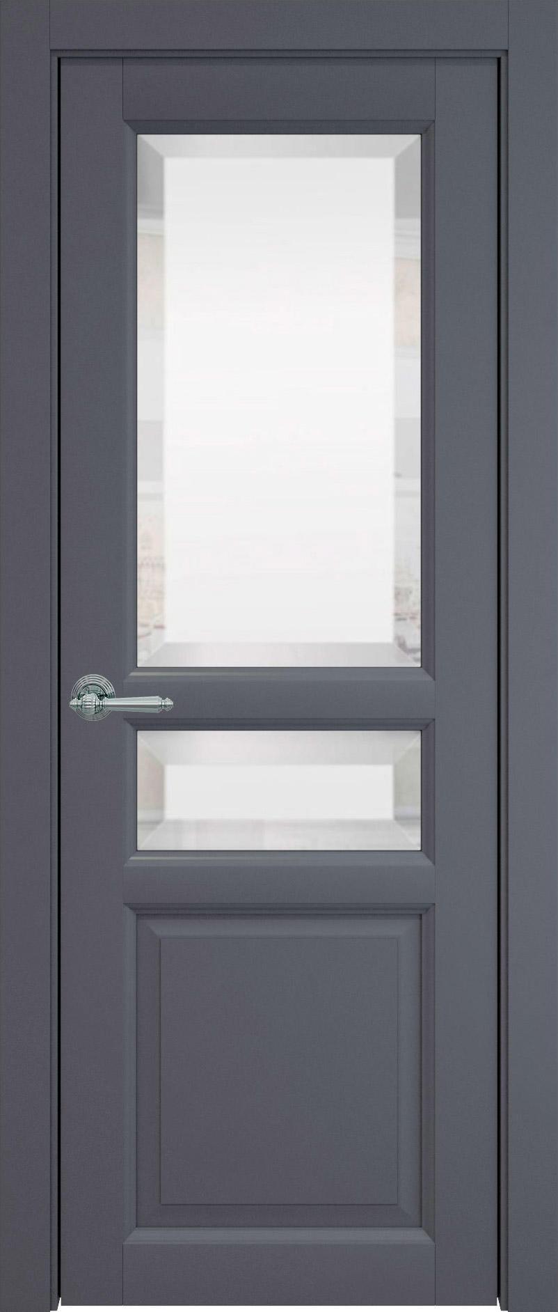 Imperia-R цвет - Графитово-серая эмаль (RAL 7024) Со стеклом (ДО)