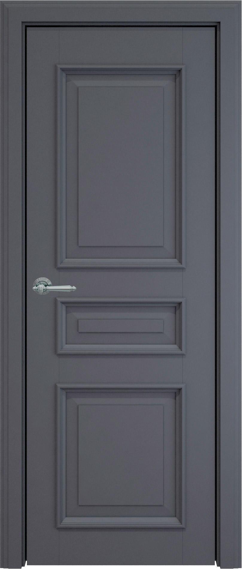 Imperia-R LUX цвет - Графитово-серая эмаль (RAL 7024) Без стекла (ДГ)