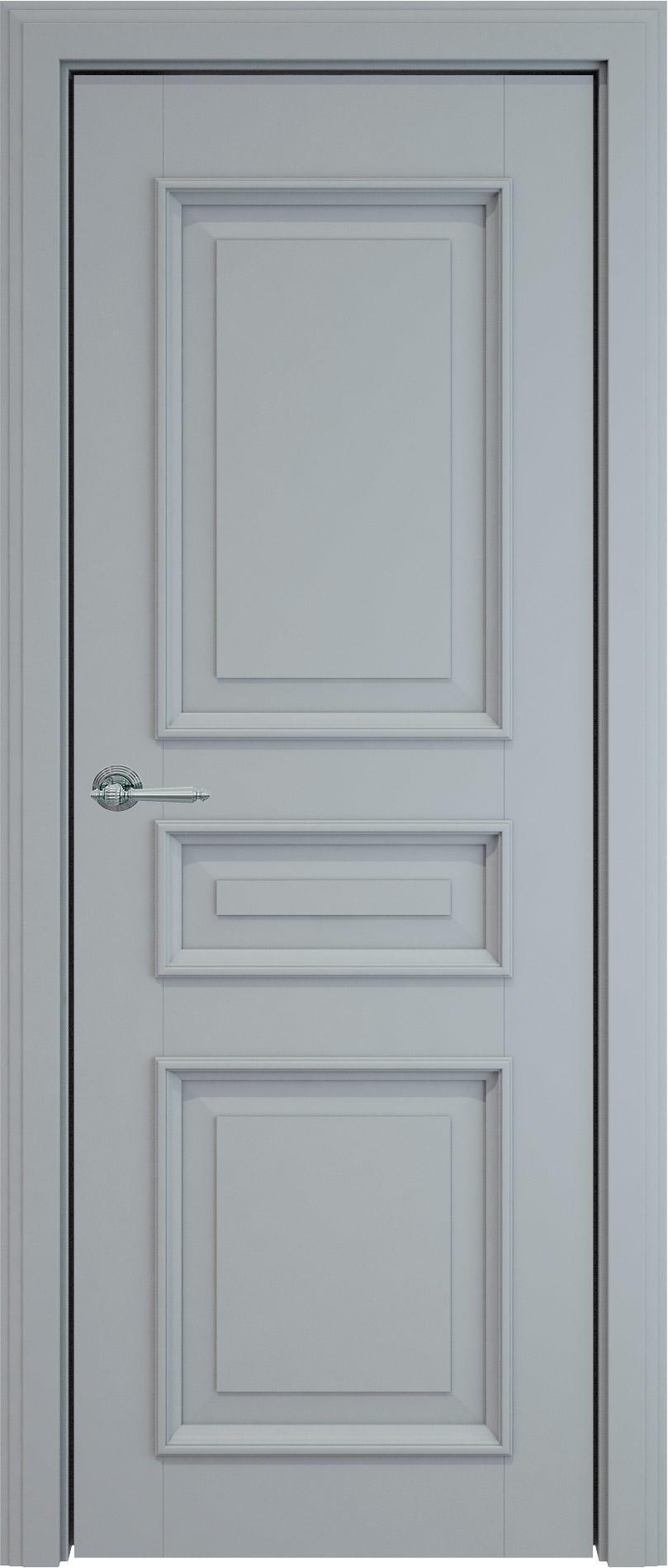 Imperia-R LUX цвет - Серебристо-серая эмаль (RAL 7045) Без стекла (ДГ)