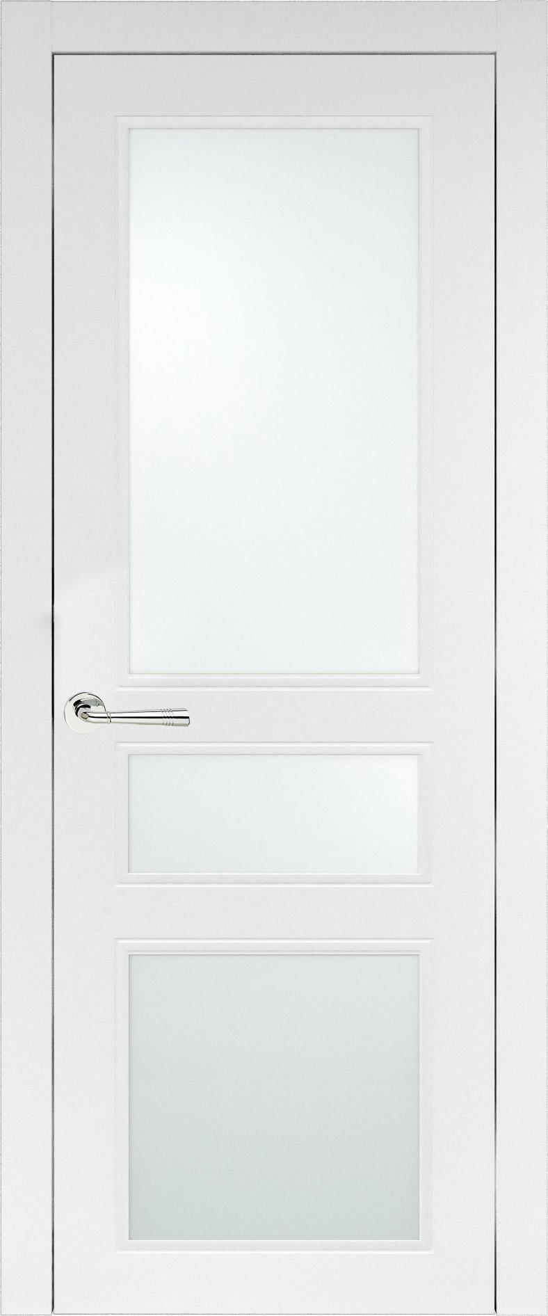 Imperia-R Neo Classic цвет - Белая эмаль (RAL 9003) Со стеклом (ДО)