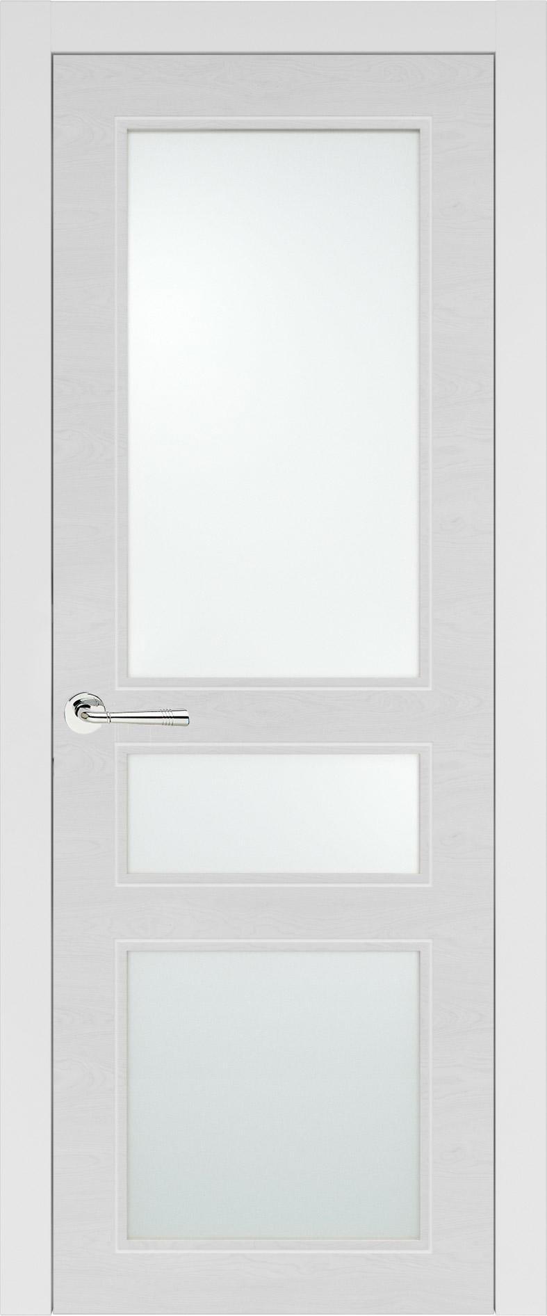 Imperia-R Neo Classic цвет - Белая эмаль по шпону (RAL 9003) Со стеклом (ДО)