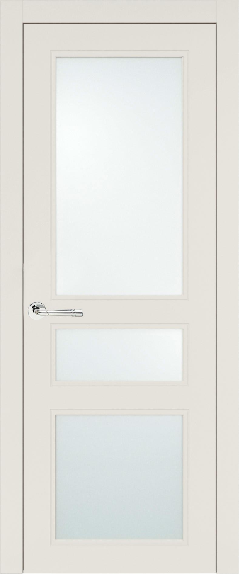 Imperia-R Neo Classic цвет - Бежевая эмаль (RAL 9010) Со стеклом (ДО)