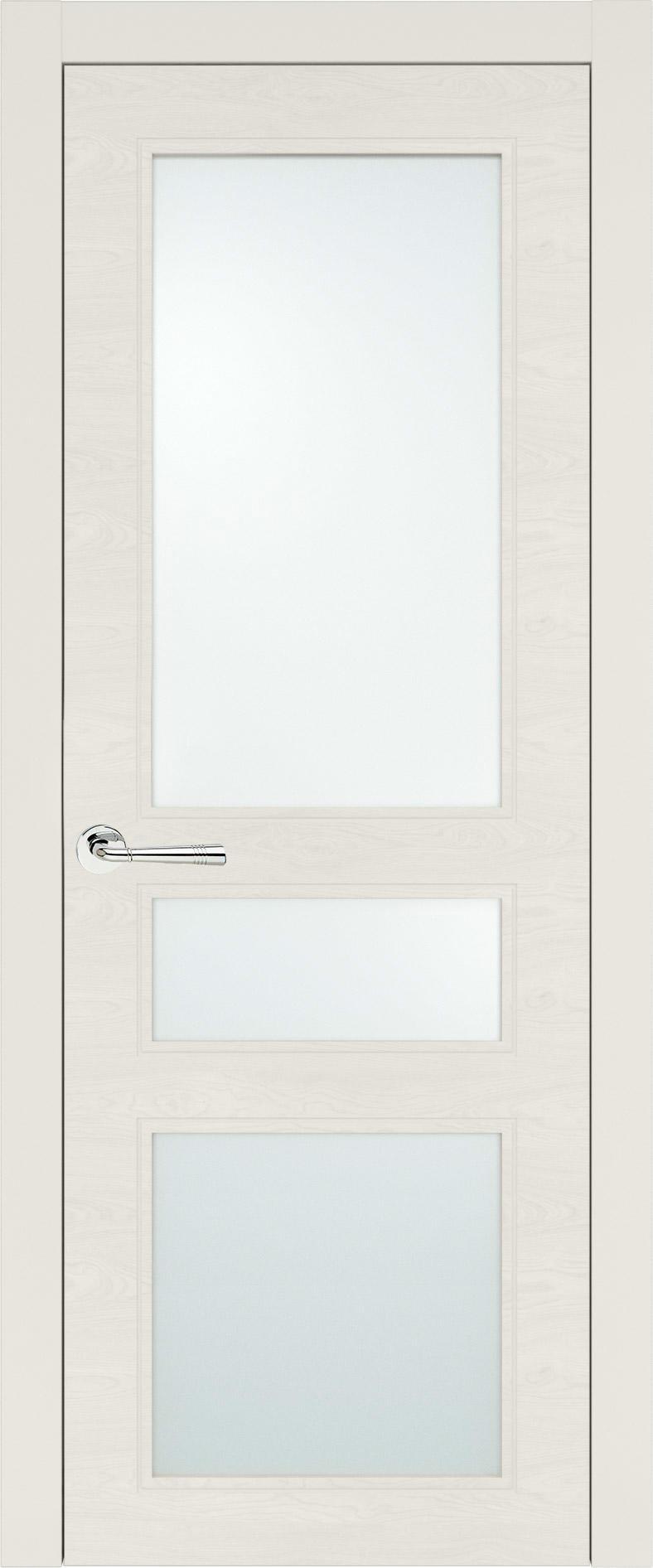 Imperia-R Neo Classic цвет - Бежевая эмаль по шпону (RAL 9010) Со стеклом (ДО)