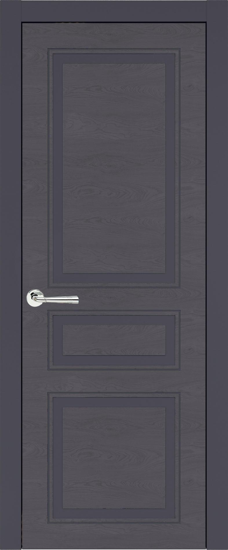 Imperia-R Neo Classic цвет - Графитово-серая эмаль по шпону (RAL 7024) Без стекла (ДГ)