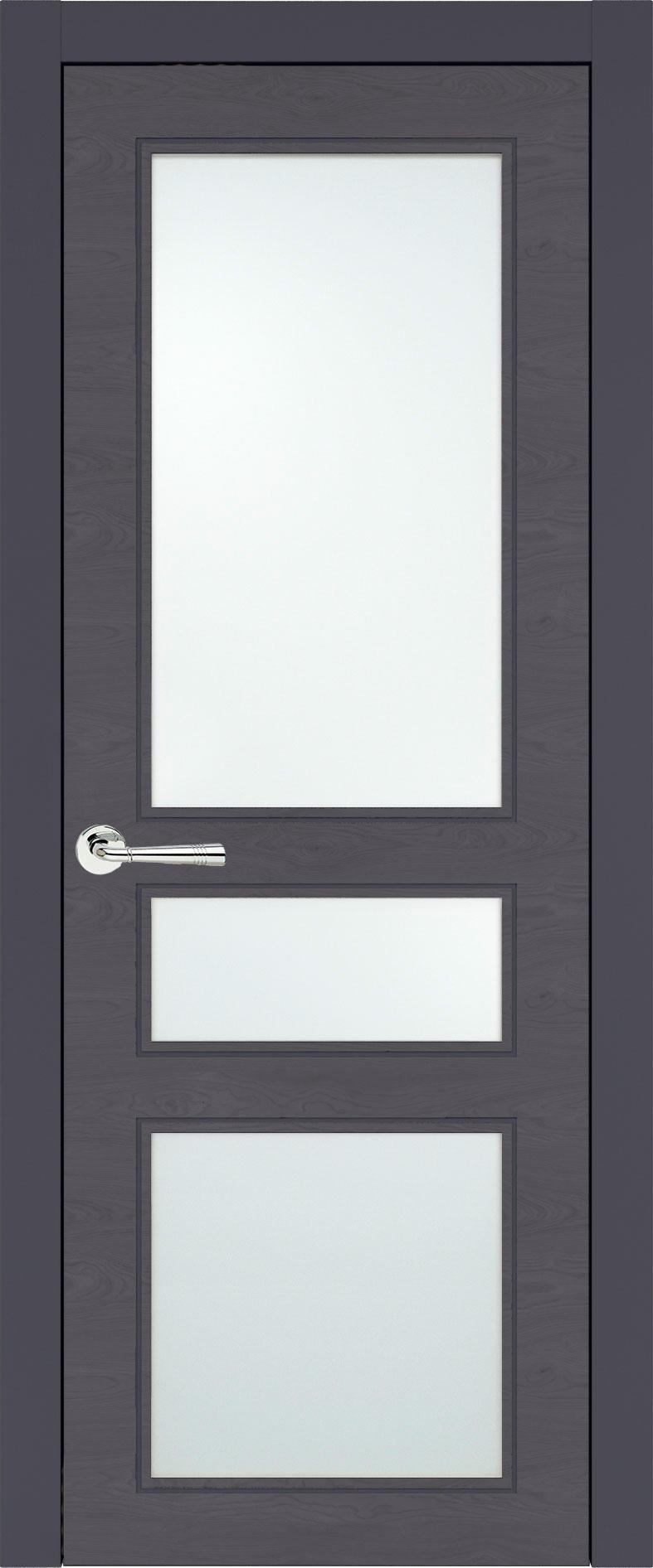 Imperia-R Neo Classic цвет - Графитово-серая эмаль по шпону (RAL 7024) Со стеклом (ДО)