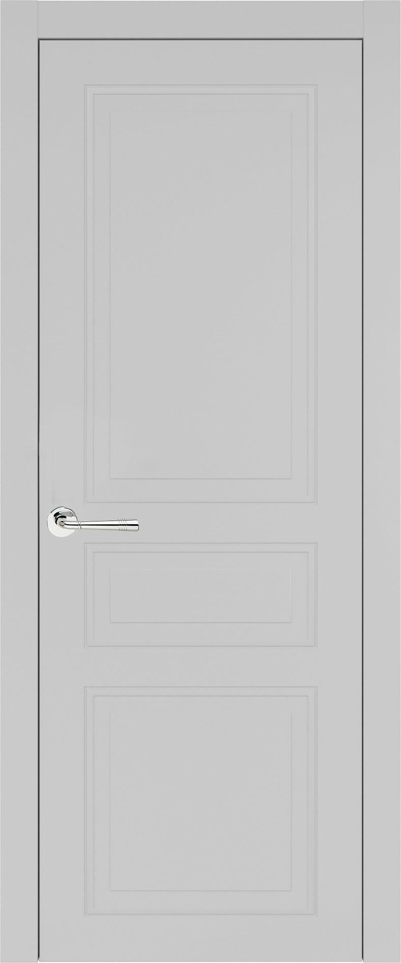 Imperia-R Neo Classic цвет - Серая эмаль (RAL 7047) Без стекла (ДГ)