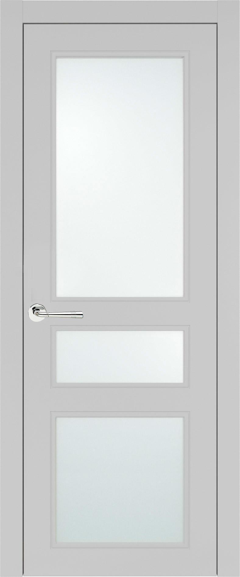 Imperia-R Neo Classic цвет - Серая эмаль (RAL 7047) Со стеклом (ДО)