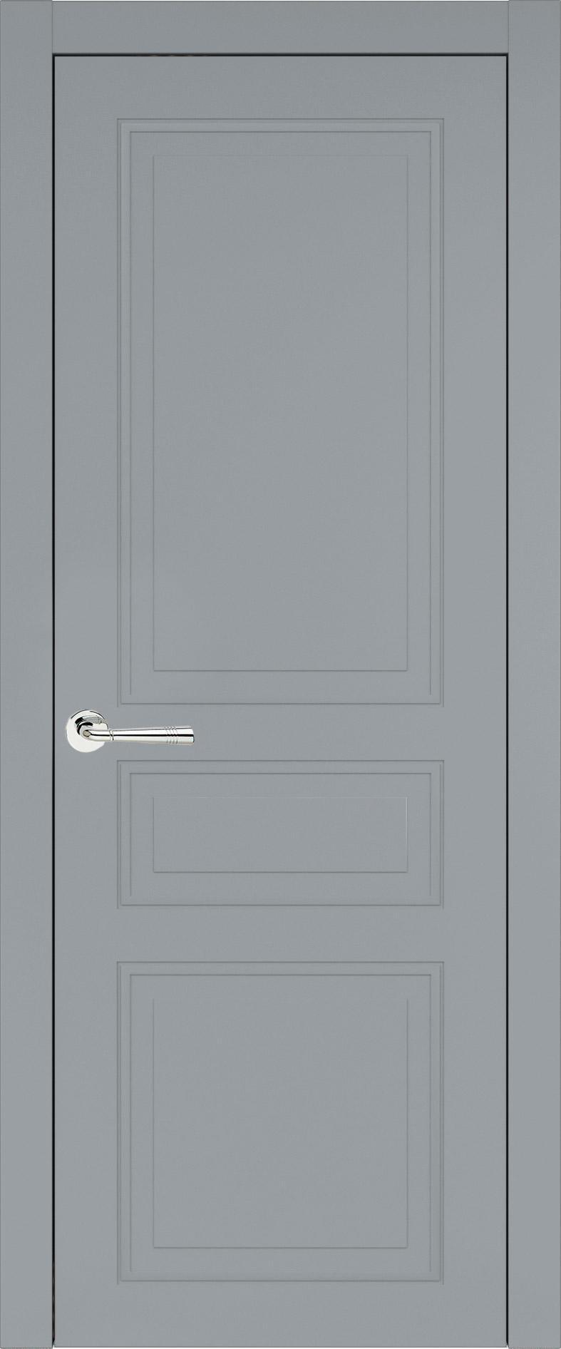 Imperia-R Neo Classic цвет - Серебристо-серая эмаль (RAL 7045) Без стекла (ДГ)