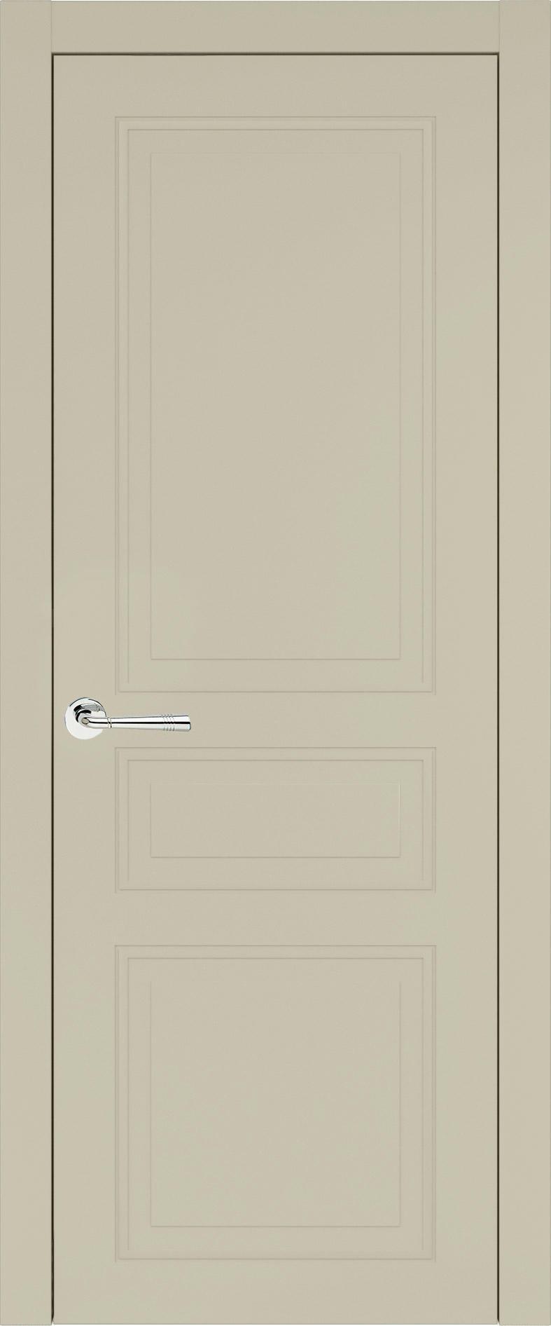 Imperia-R Neo Classic цвет - Серо-оливковая эмаль (RAL 7032) Без стекла (ДГ)
