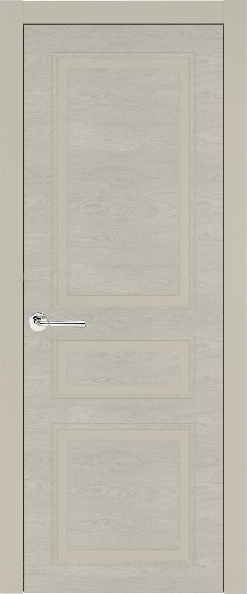 Imperia-R Neo Classic цвет - Серо-оливковая эмаль по шпону (RAL 7032) Без стекла (ДГ)