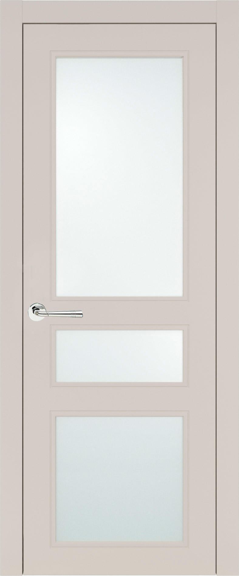 Imperia-R Neo Classic цвет - Жемчужная эмаль (RAL 1013) Со стеклом (ДО)