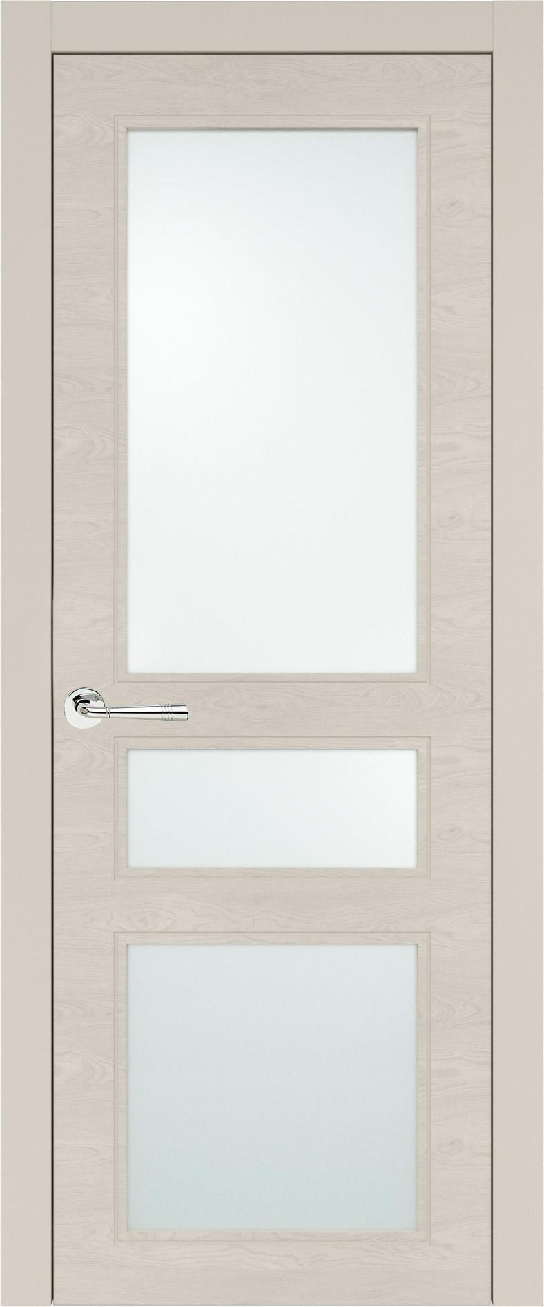 Imperia-R Neo Classic цвет - Жемчужная эмаль по шпону (RAL 1013) Со стеклом (ДО)