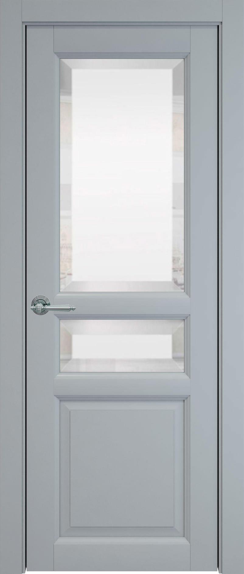 Imperia-R цвет - Серебристо-серая эмаль (RAL 7045) Со стеклом (ДО)