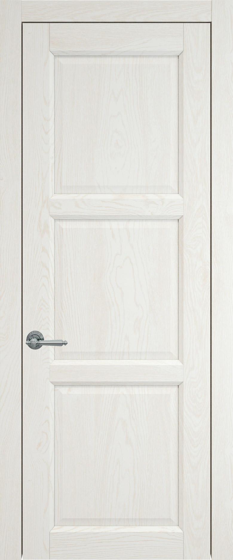 Milano цвет - Белый ясень (nano-flex) Без стекла (ДГ)