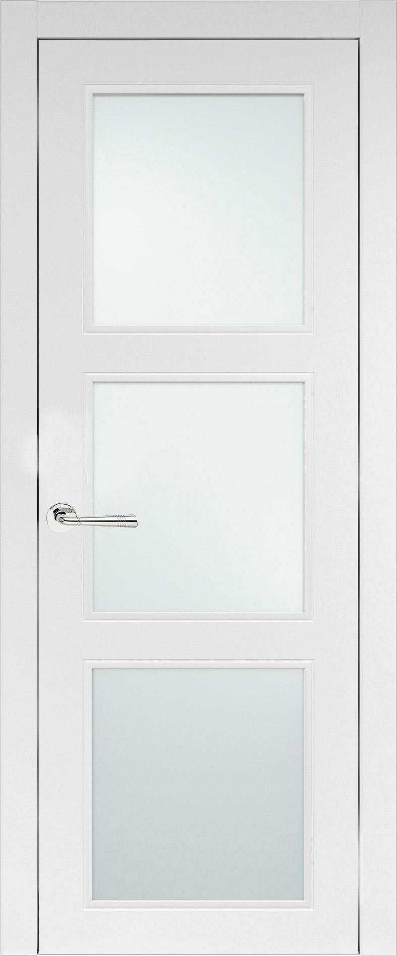 Milano Neo Classic цвет - Белая эмаль (RAL 9003) Со стеклом (ДО)