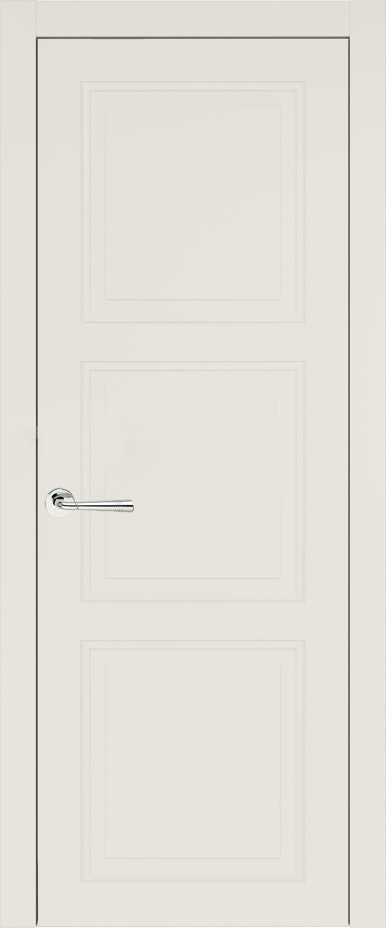 Milano Neo Classic цвет - Бежевая эмаль (RAL 9010) Без стекла (ДГ)