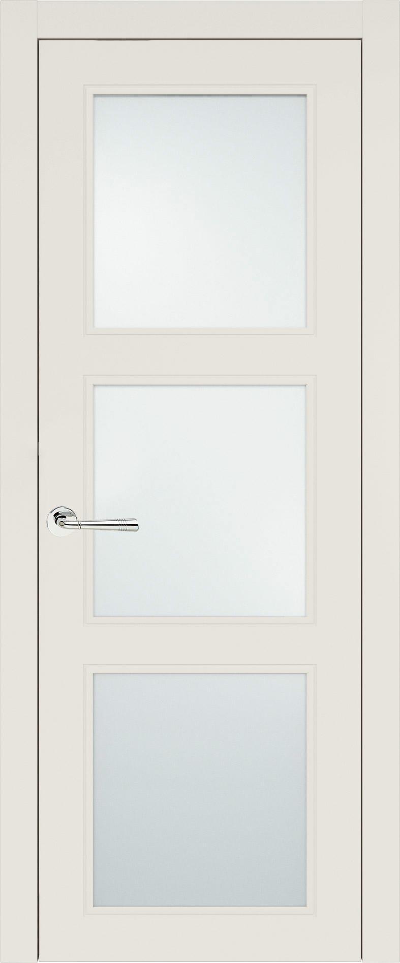 Milano Neo Classic цвет - Бежевая эмаль (RAL 9010) Со стеклом (ДО)