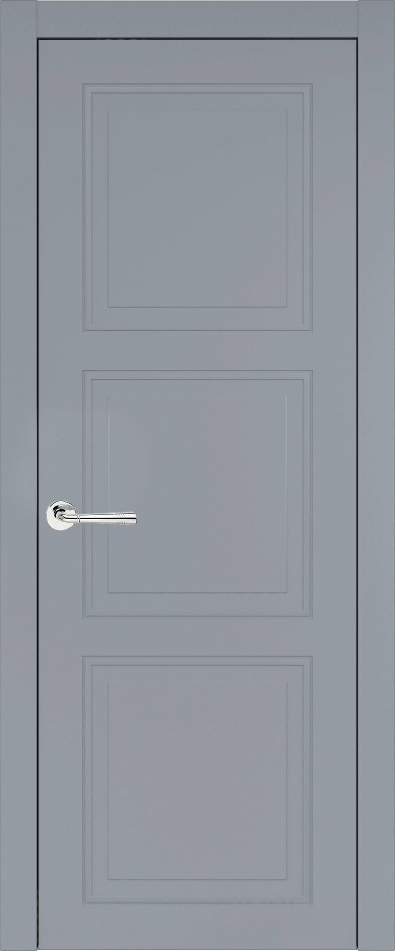 Milano Neo Classic цвет - Серебристо-серая эмаль (RAL 7045) Без стекла (ДГ)