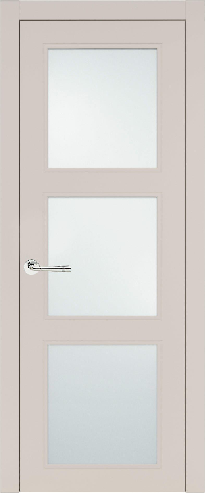 Milano Neo Classic цвет - Жемчужная эмаль (RAL 1013) Со стеклом (ДО)