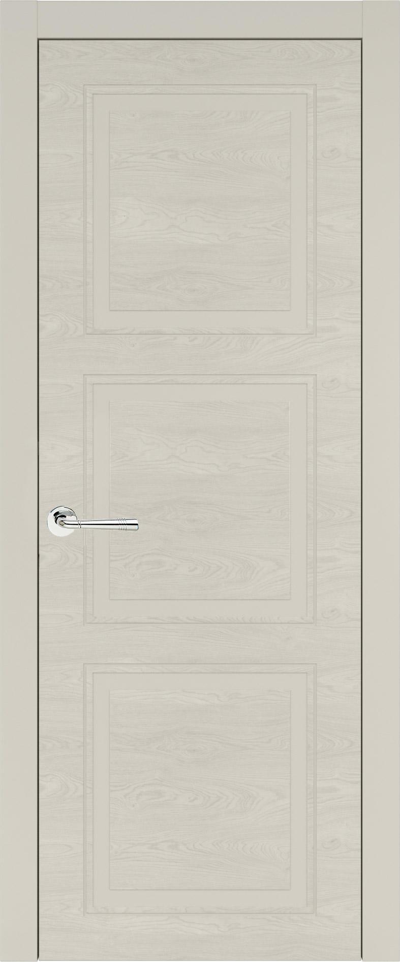 Milano Neo Classic цвет - Жемчужная эмаль по шпону (RAL 1013) Без стекла (ДГ)