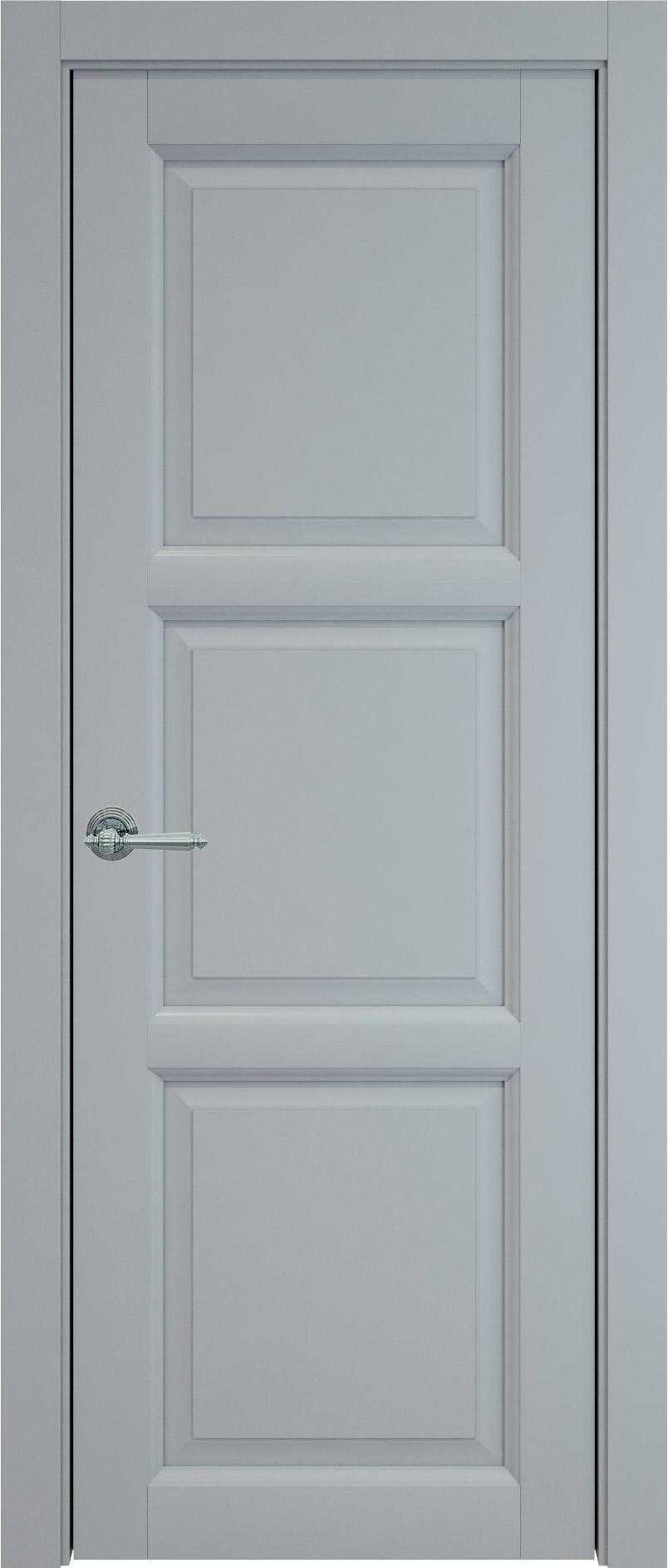 Milano цвет - Серебристо-серая эмаль (RAL 7045) Без стекла (ДГ)
