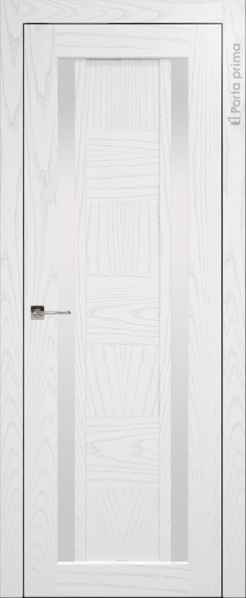 Palazzo цвет - Белый ясень (шпон) Без стекла (ДГ)