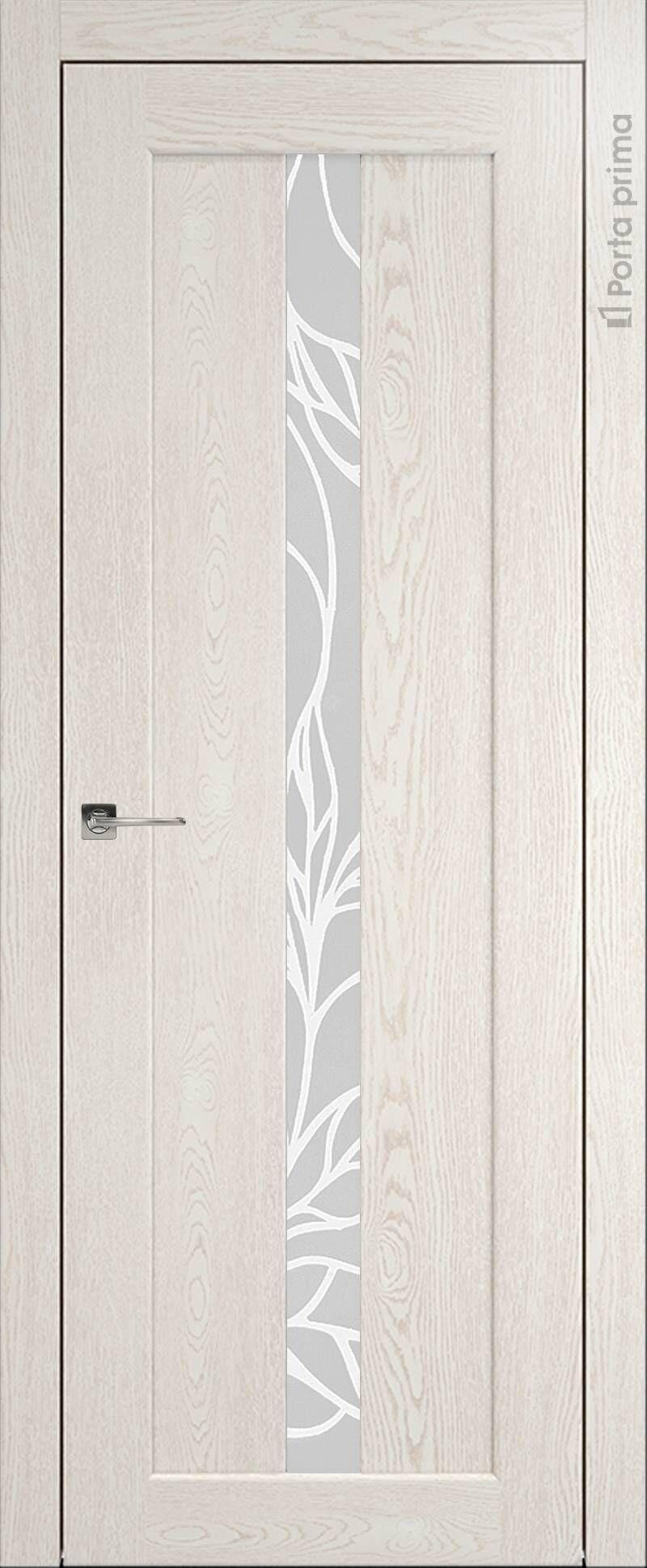 Pianta цвет - Белый ясень (nano-flex) Без стекла (ДГ)